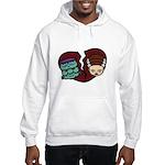 Bride Hates Monster Hooded Sweatshirt