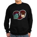 Bride Hates Monster Sweatshirt (dark)