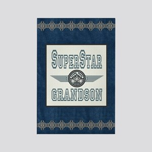 Superstar Grandson Rectangle Magnet
