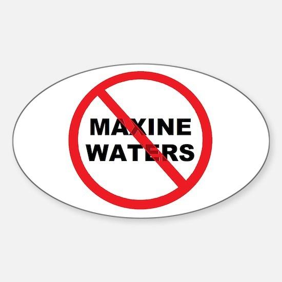 Anti Maxine Waters Sticker (Oval)