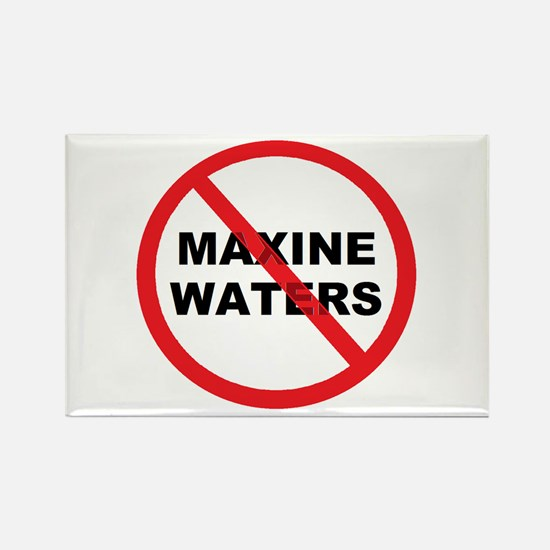 Anti Maxine Waters Rectangle Magnet