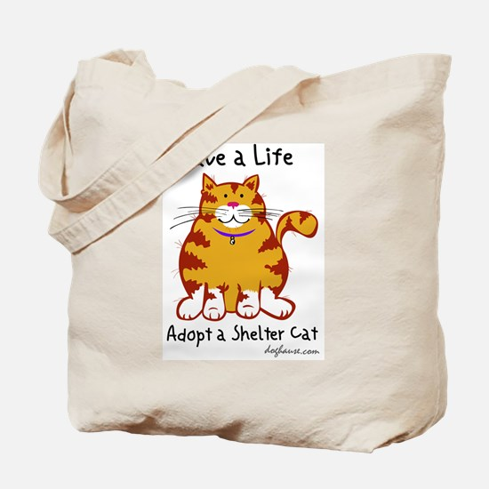 Shelter Cat Tote Bag