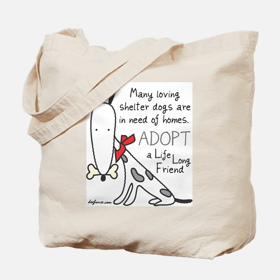 Life Long Friend (Dog) Tote Bag