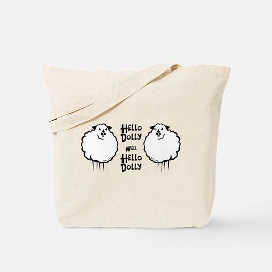 Hello Dolly Sheep Tote Bag