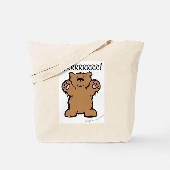 Cute Teddy Tote Bag