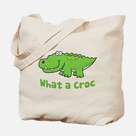What a Croc Tote Bag