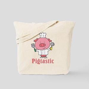 Pigtastic Pig Tote Bag