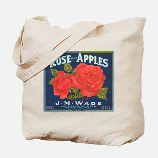 Rose Apples Tote Bag