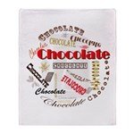 Chocolate Throw Blanket