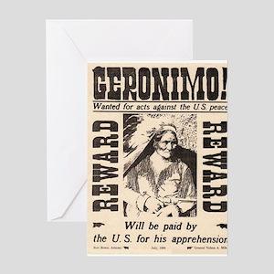 Geronimo Reward Greeting Card