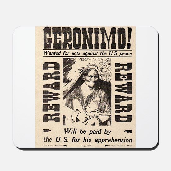 Geronimo Reward Mousepad