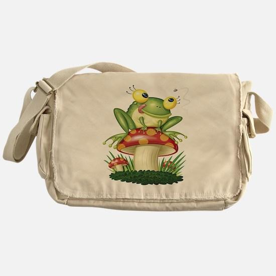 Frog & Toad stool Messenger Bag