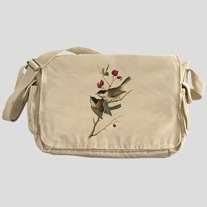 Black-capped Chickadee Messenger Bag