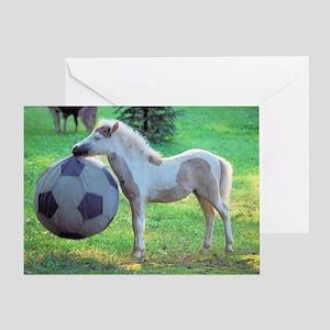 Goalie Foal Greeting Card