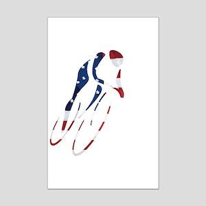 USA Cycling Mini Poster Print
