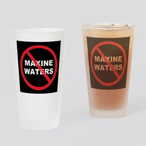 Anti Maxine Waters Drinking Glass