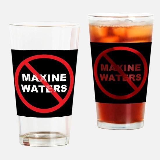 Anti Maxine Waters Drinking Glass