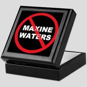 Anti Maxine Waters Keepsake Box