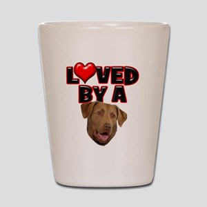 Loved by a Chesapeake Bay Ret Shot Glass