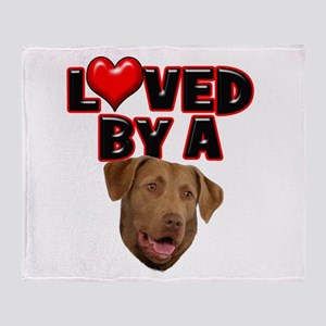 Loved by a Chesapeake Bay Ret Throw Blanket