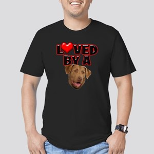 Loved by a Chesapeake Bay Ret Men's Fitted T-Shirt