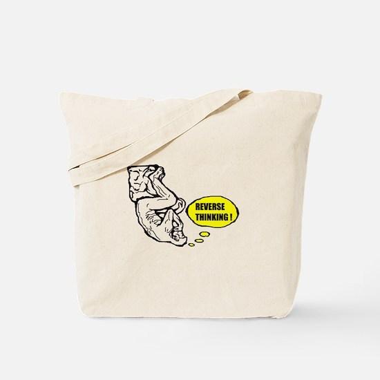 Reverse thinking Tote Bag