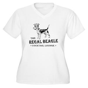 09ac9263fea Beagle Women s Plus Size T-Shirts - CafePress