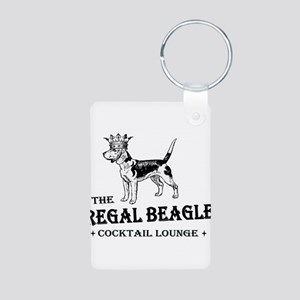 The Regal Beagle Aluminum Photo Keychain