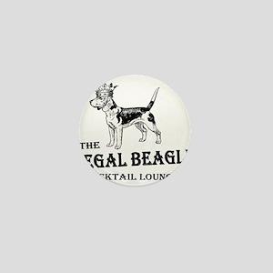 The Regal Beagle Mini Button