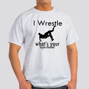 I Wrestle Light T-Shirt