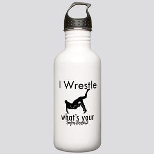 I Wrestle Stainless Water Bottle 1.0L