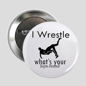 """I Wrestle 2.25"""" Button"""