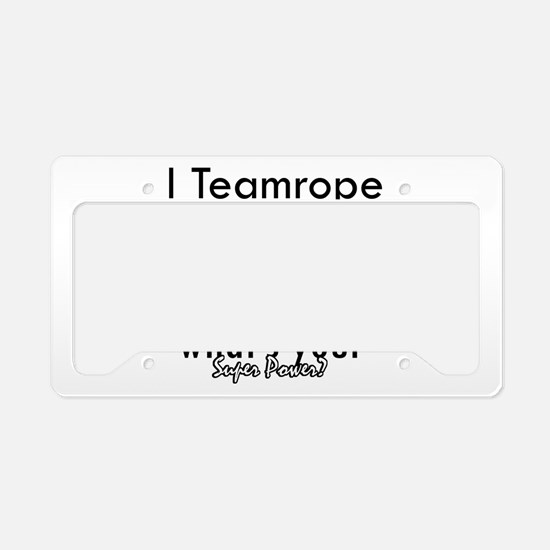 I Teamrope License Plate Holder