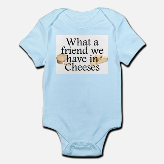 Cheeses Infant Bodysuit
