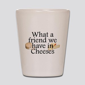 Cheeses Shot Glass