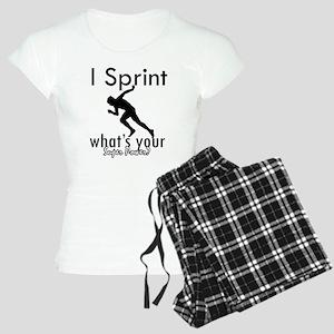 I Sprint Women's Light Pajamas