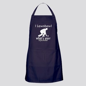 I Lawnbowl Apron (dark)