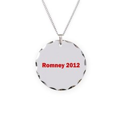 Romney 2012 Necklace