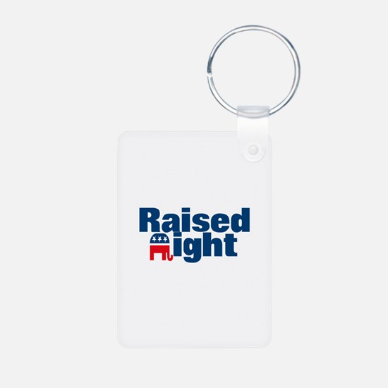 Raised Right Keychains