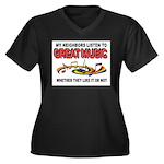 MUSIC Plus Size T-Shirt
