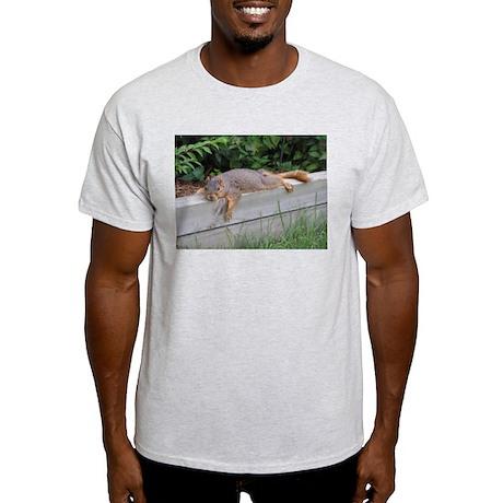 Laying squirrel Ash Grey T-Shirt