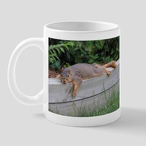 Laying squirrel Mug