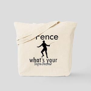 I Fence Tote Bag