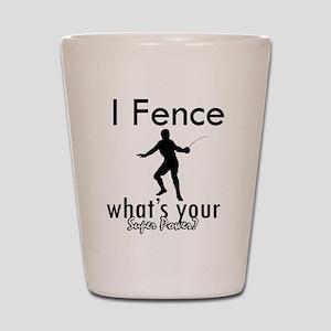 I Fence Shot Glass