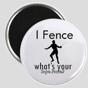 I Fence Magnet