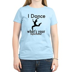 I Dance Women's Light T-Shirt