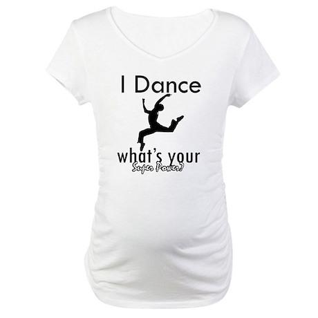 I Dance Maternity T-Shirt
