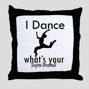 I Dance Throw Pillow