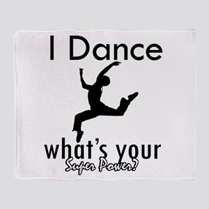 I Dance Throw Blanket