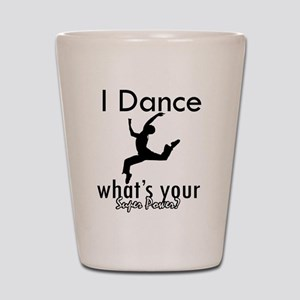 modern dance shot glasses cafepress